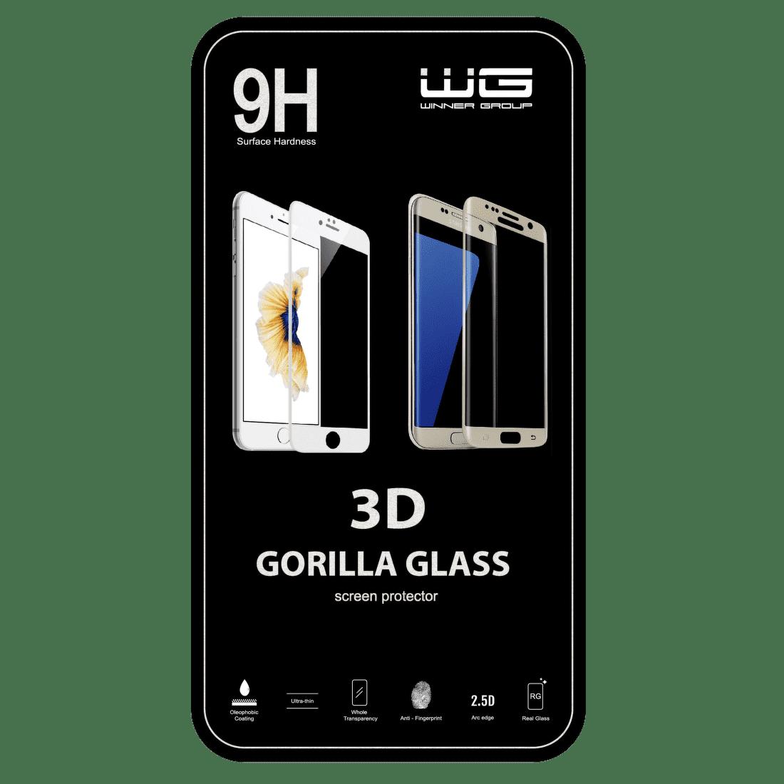 Winner tvrzené sklo 3D pro Samsung Galaxy J5 2017, zlatá