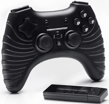 Thrustmaster T-Wireless Gamepad pro PC/PS3 černý