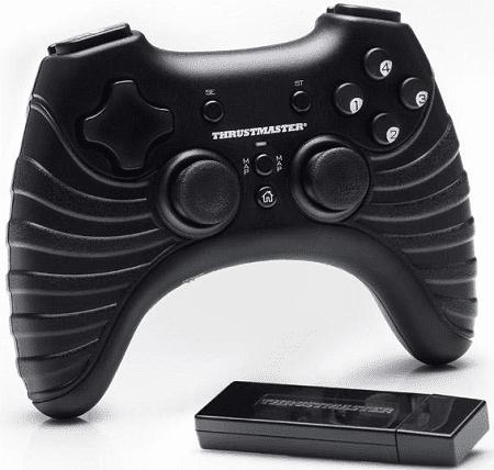 Thrustmaster T-Wireless Gamepad pro PC/PS3 černý
