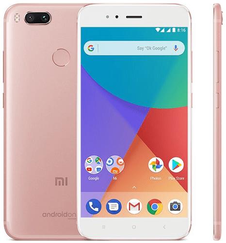 Xiaomi Mi A1, rúžově-zlatá