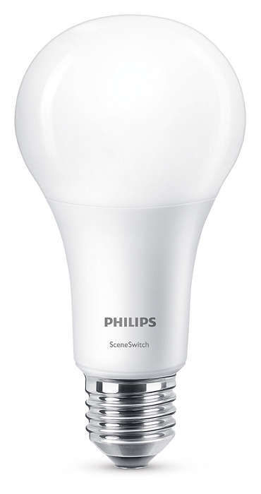 Philips Lighting E27 14W WW