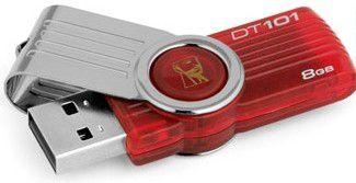 Kingston Data Traveler 101 G2 8 GB (červený)