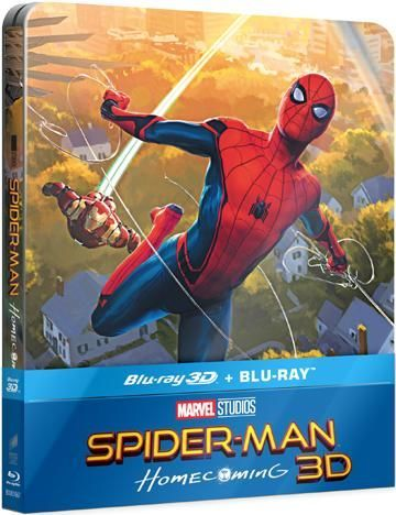 Spider-man: Homecoming - Blu-ray film (3D + 2D)