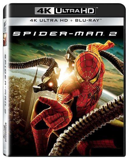 Spider-Man 2 - 2xBD (Blu-ray + 4K UHD film)