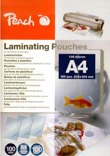 Peach PP500-02, 100Ks A4 laminovací fólie