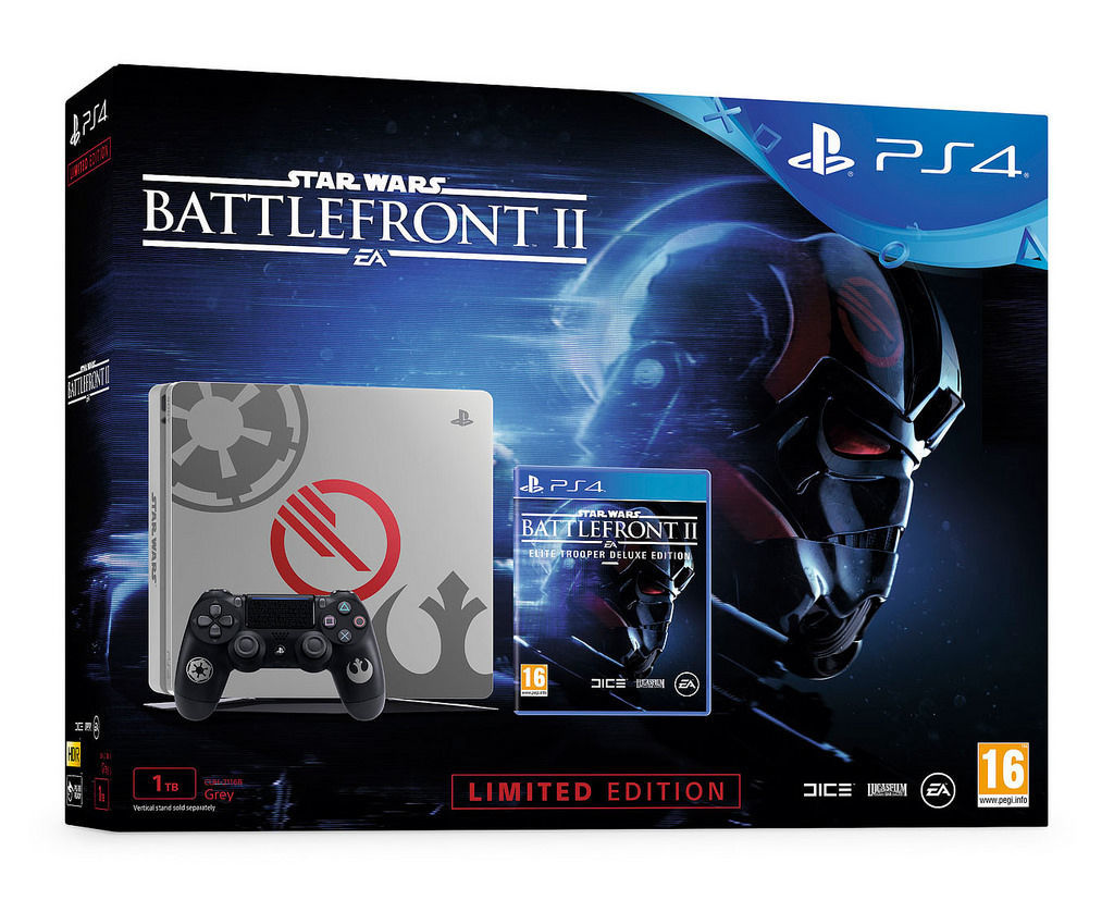 Sony PlayStation 4 Slim Star Wars + Battlefront II