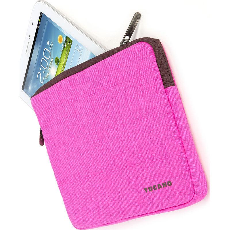 "Fluo Second Skin universal 8"" (růžový) - obal na tablet"