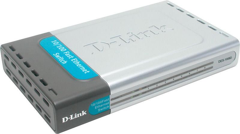 DLINK DLDES 1008D, switch