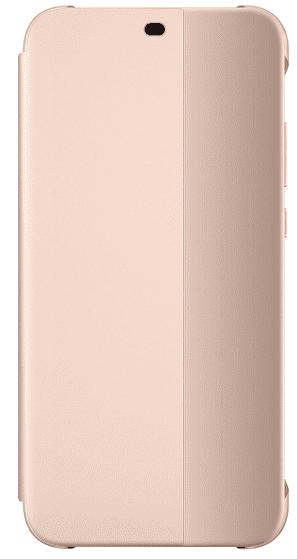 Huawei knížkové pouzdro pro Huawei P20 Lite, růžová