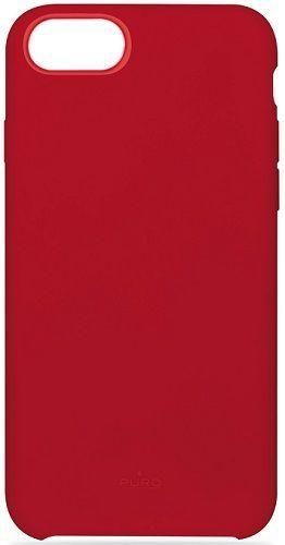 Puro Icon pouzdro pro Apple iPhone 6/6s/7/8, červená