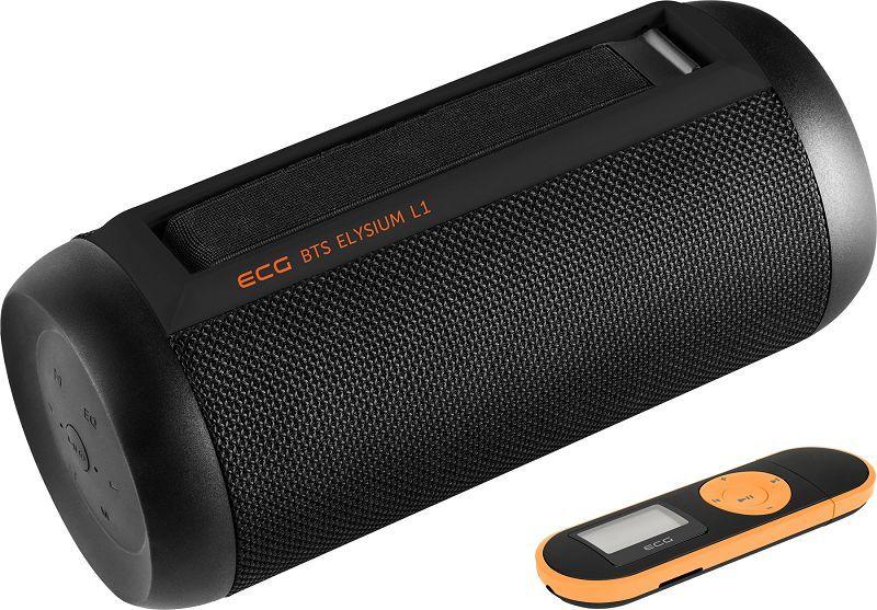 ECG BTS L1 černý bezdrátový reproduktor s MP3 přehrávačem zdarma