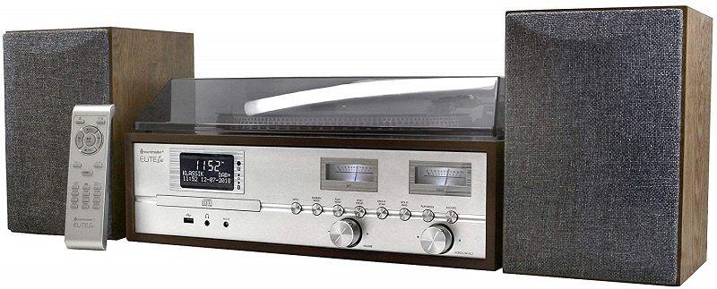 Soundmaster PL880 hnědý