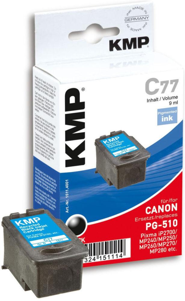 KMP C77 komp. recykl. náplň pro Canon PG-510