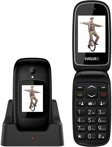 Evolveo EasyPhone FD černý