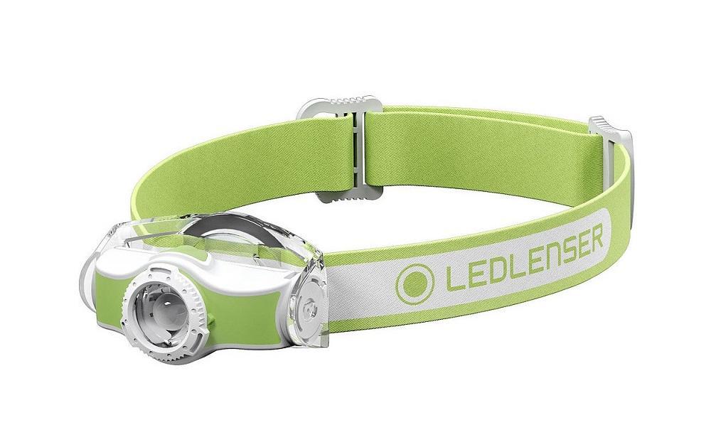 LED Lenser MH3 zelená