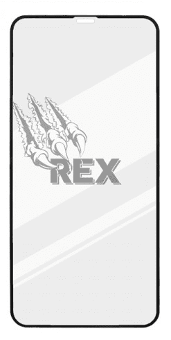 Sturdo Rex Premium Silver tvrzené sklo pro Apple iPhone 11, černá
