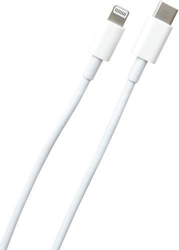 Mobilnet USB-C/Lightning kabel 1m, bílá