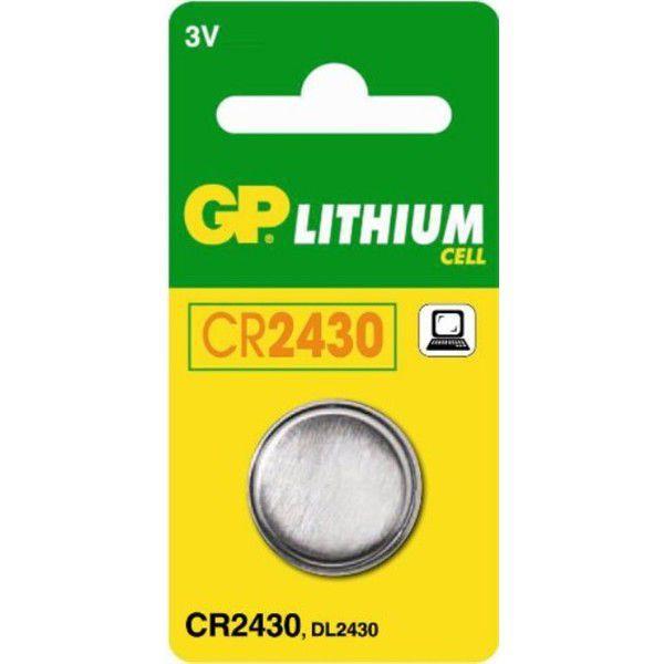 GP baterie CR-2430 3V (1ks) - líthiová knoflíková baterie