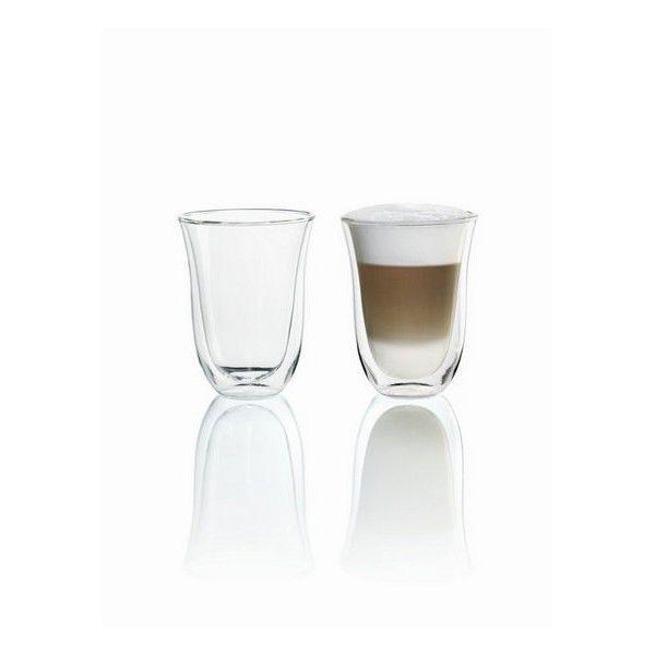 Delonghi pohárky na Latte Macchiato (2ks)