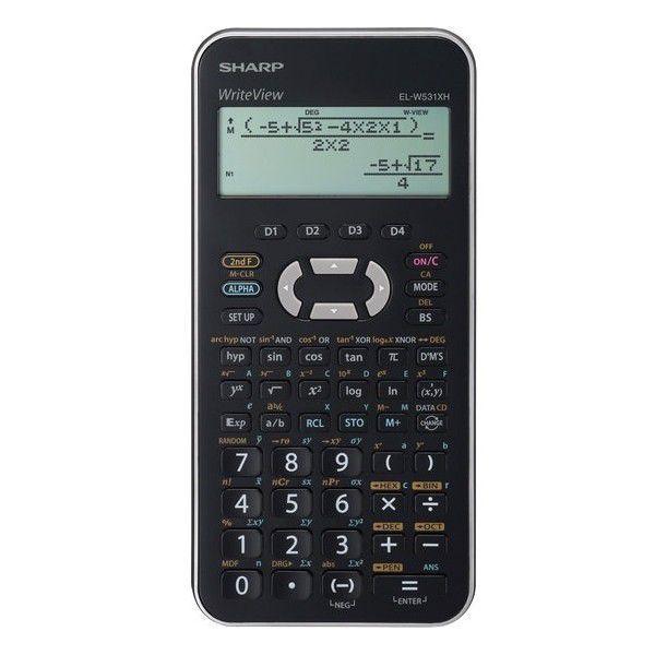 Sharp EL-W531XHSL - vědecká kalkulačka