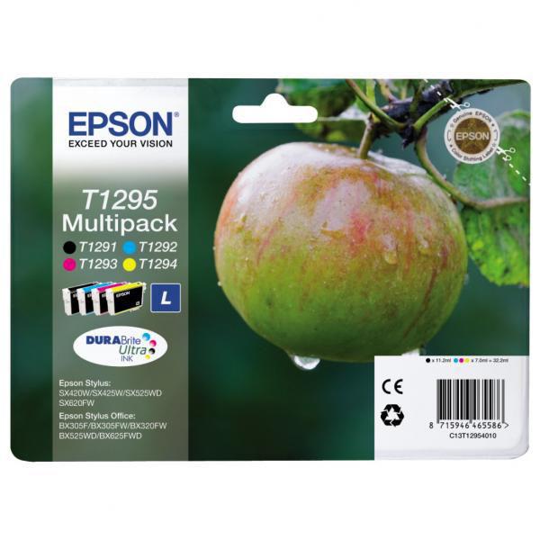Epson T1295 L color (jablko) - inkoustová náplň