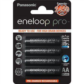 PANASONIC Eneloop Pro AA 2450 4BP