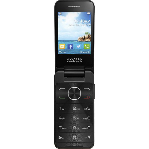 Alcatel OT-2012D (hnědý)