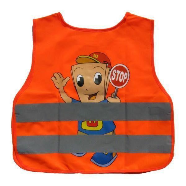 Reflexní vesta dětská oranž