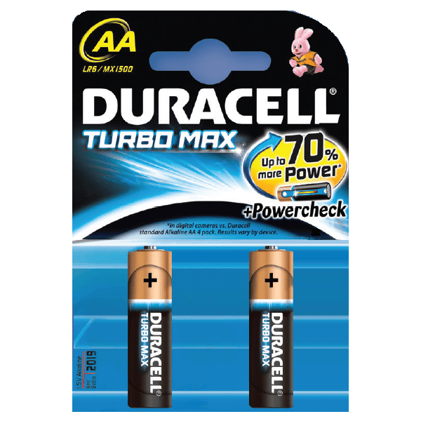 Duracell Turbo Max AA 1500 2ks