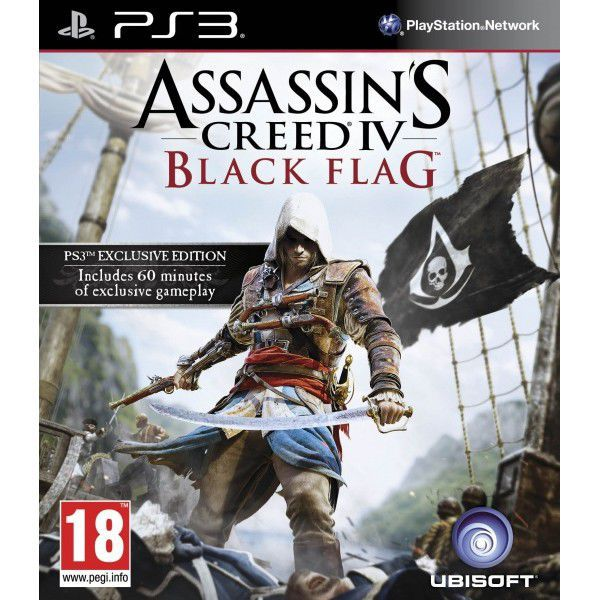 Assassins Creed 4: Black Flag (Standard Edition) - hra pro PS3