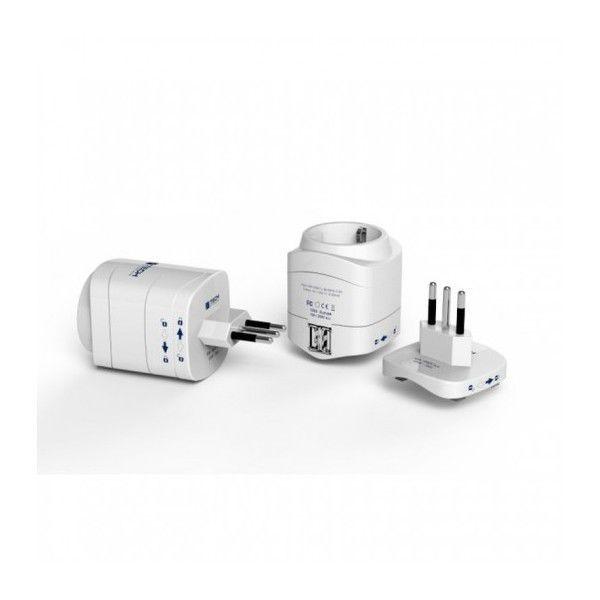 Travel Blue 946 Tech cestovní adaptér