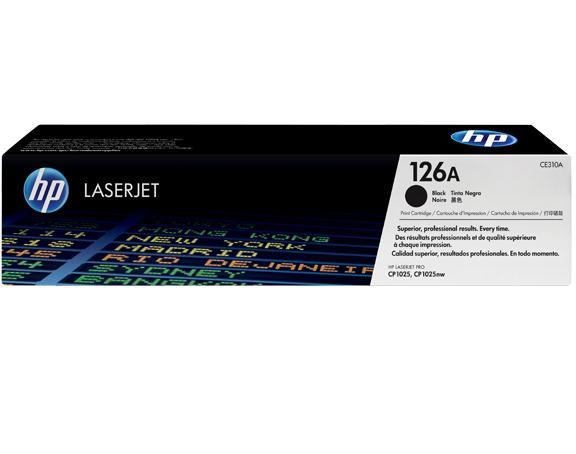 HP CE310A - black toner No.126A