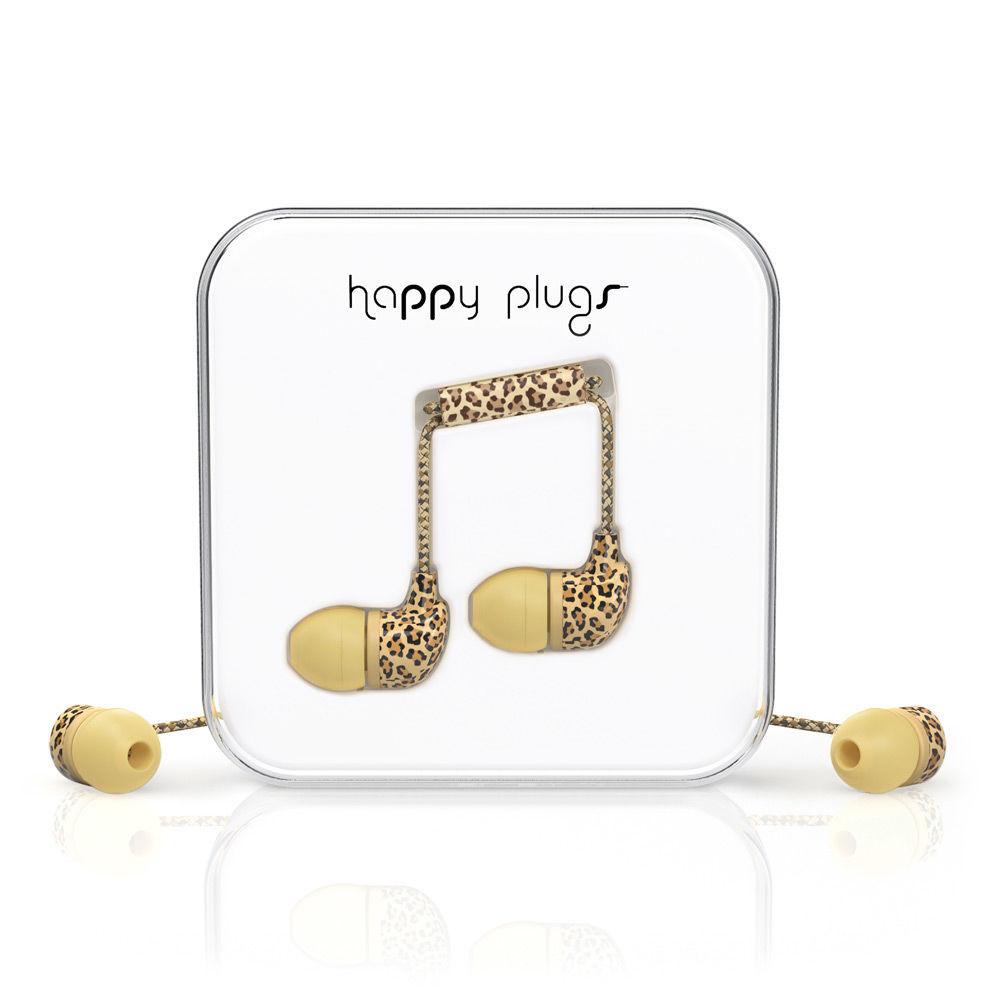 Happy Plugs In-Ear 7740 (leopardí)
