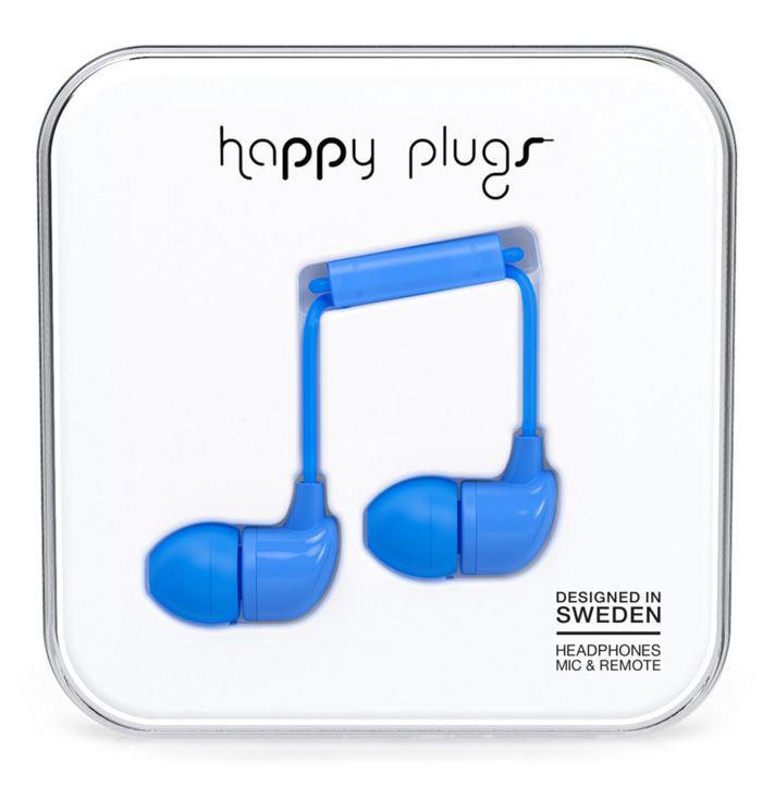 Happy Plugs In-Ear 7718 (modrá)