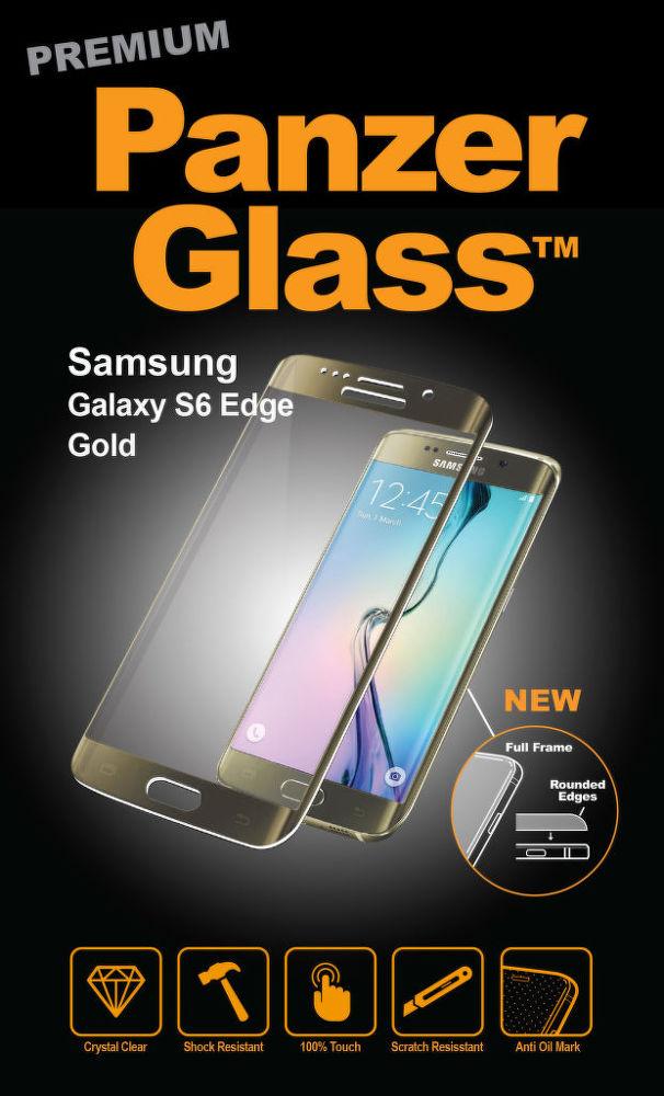 Panzerglass Premium Galaxy S6 Edge (zlatá)