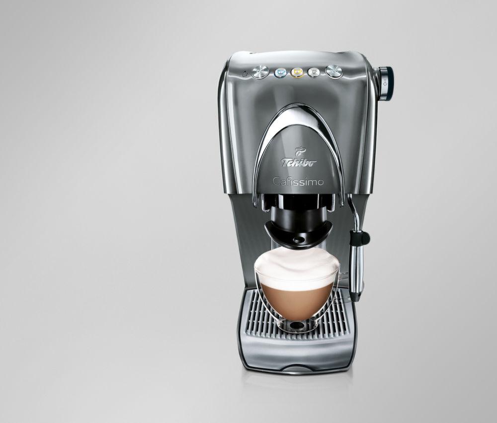 TCHIBO Cafissimo Classic (stříbrná) - Kapslový kávovar