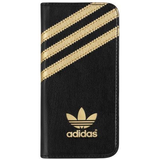 Adidas pouzdro pro Apple iPhone 5/5s (černozlaté)