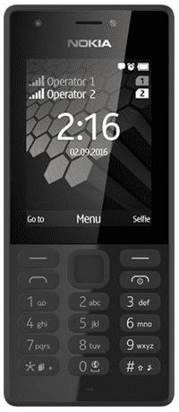 Nokia 216 Dual SIM (černý)