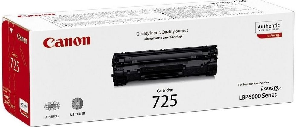 Canon CRG725 black - toner