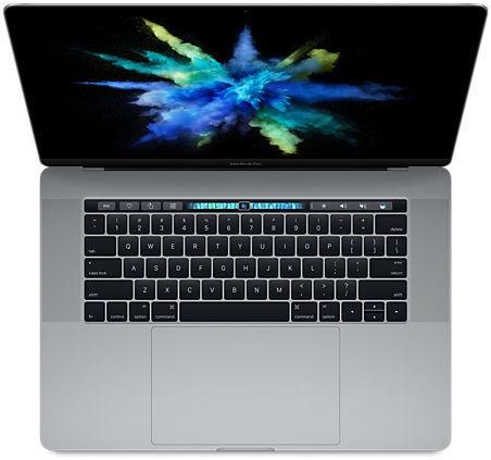 "Apple MacBook Pro 15"" Touch Bar 256GB (šedá), MLH32CZ/A"