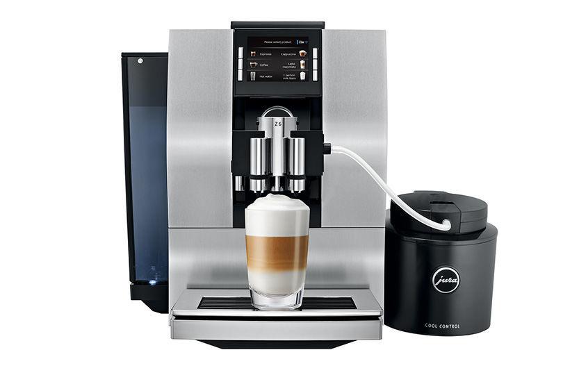 JURA Z6 (stříbrná) - Automatické espresso