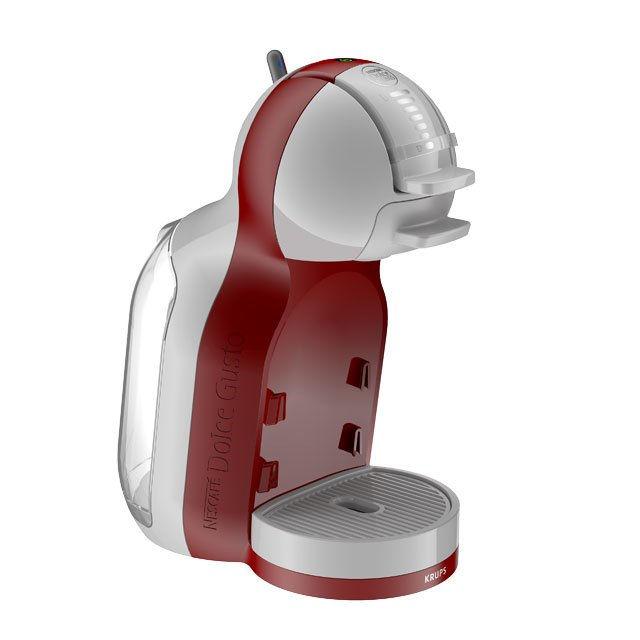 KRUPS KP1205 Nescafé Dolce Gusto MiniMe (červená) - Kapslový kávovar