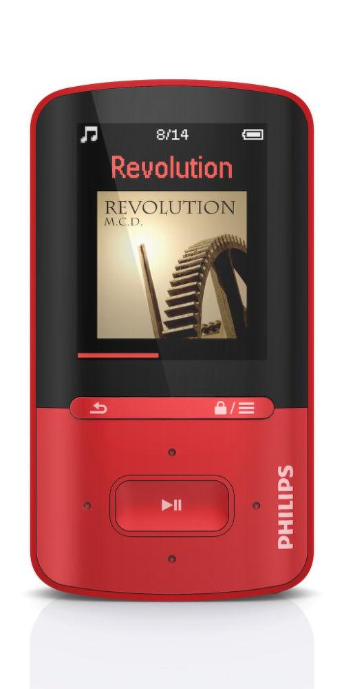 Philips SA4VBE04R (černo-červený)