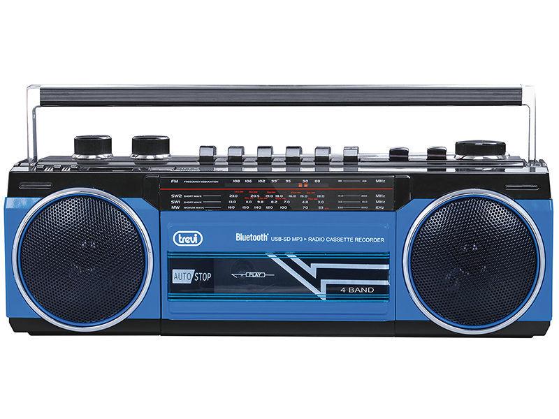 Trevi RR 501 BT modrý