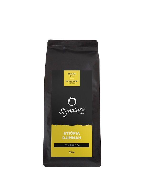 Signatura Etiopie Djimmah zrnková káva (250g)