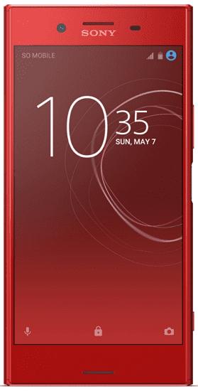 Sony XZ Premium Dual SIM červený