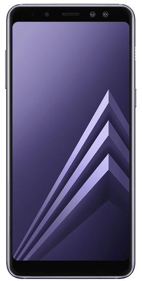 Samsung Galaxy A8 2018 šedý + dárek Samsung Gear VR R325 zdarma
