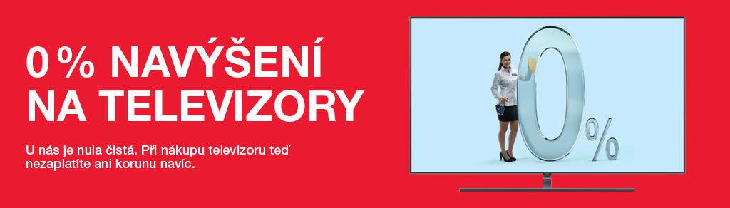 Splátky s 0% navýšením na televizory