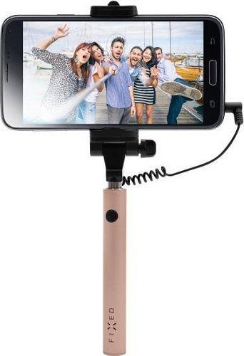 Fixed Snap Mini růžová, selfie tyč