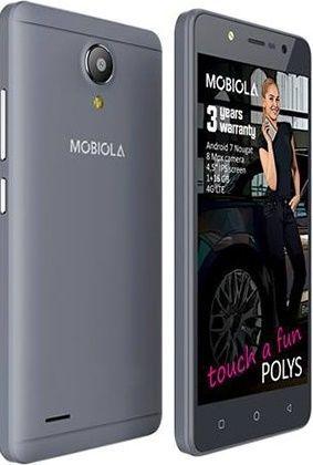 Mobiola Polys šedý